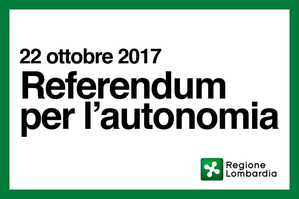 Referendum per l'Autonomia: domande e risposte.