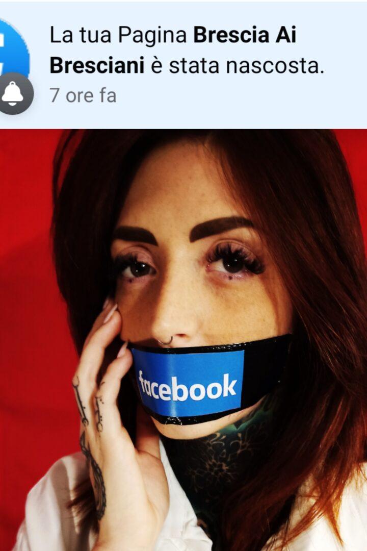 La censura del pensiero unico si abbatte su Brescia ai Bresciani